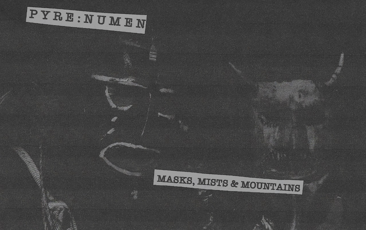 Masks, Mists & Mountains Front Cover