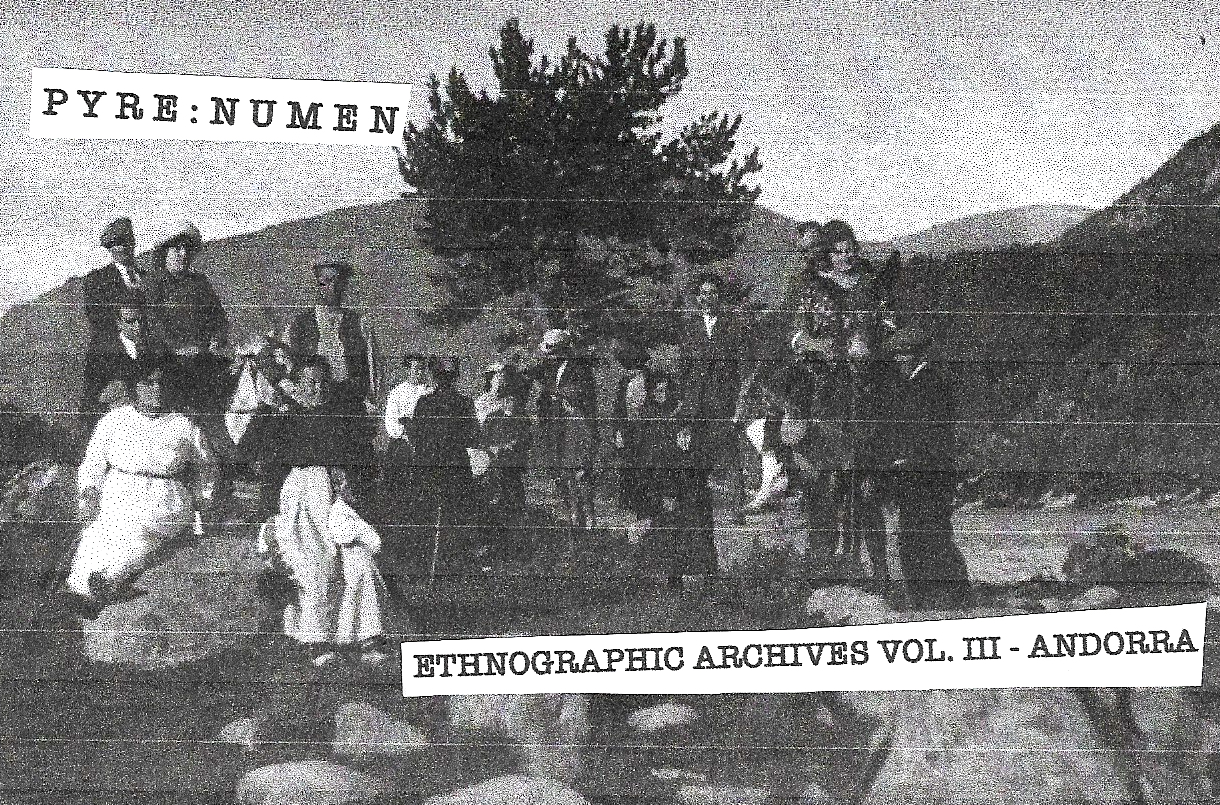 Ethnographic Archives Vol. III - Andorra Cover